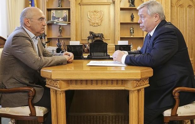 Василий Голубев встретился сКурбаном Бердыевым